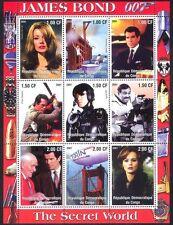 Congo James Bond/AIR BALLOON/Action/Cinema 9v sht (cs) b5505