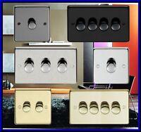 1,2,3,4 GANG V PRO LED TRAILING EDGE DIMMER SWITCH OR STANDARD DIMMER SWITCH