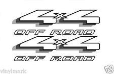 Vinylmark 4x4 Off Road Decals Fits 1998-2007 Ford Ranger Truck VF243 4WD - Black