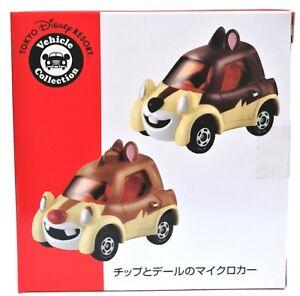 Chip N Dale 2 Pack Disney Vehicle Collection Tokyo Disney Resort Takara Tomy