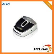 NEW Aten 2 Port USB 2.0 Auto Peripheral KVM Switch US-221A Share Printer PC MAC