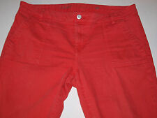 Tommy Hilfiger Size 12 (35x27) Womens Coral Skinny Jeans Ankle Zip