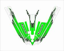 kawasaki 440 550 sx JS jet ski wrap graphics pwc stand up jetski decal green s