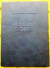 1938 The Review Yearbook - John Marshall High School - Chicago, Illinois