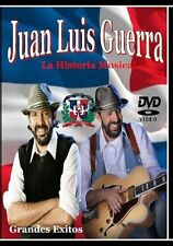 Juan Luis Guerra La Historia Musical DVD 41 Music Videos Merengue Dominicana
