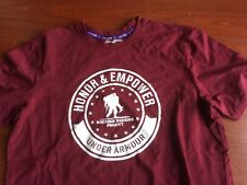 Wounded Warrior Project Honor & Empower Under Armour  Heat Gear t shirt small