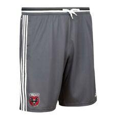 D.C. United MLS Adidas Men's Dark Grey Training Shorts w/ Pockets