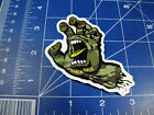 new and sold out Santa Cruz skateboards sticker - graphics Hands Jessee Slasher