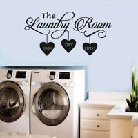 The Laundry Room Quote Wall Sticker Vinyl Art Wall Decal Home Decor  LrJNE