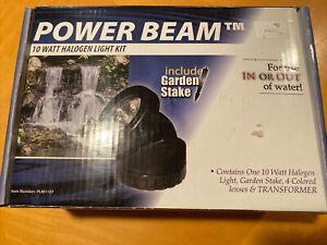 10W Single Underwater Submersible Halogen Pond Fountain Pool Light Power beam