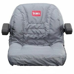 NEW GENUINE OEM TORO PART # 117-0097 SEAT COVER WITH ARMREST FOR TORO TIMECUTTER
