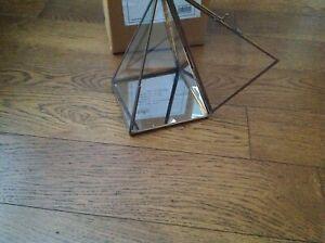 Nkuku Bequai Display Pyramid in Brass - Medium