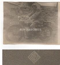 Vecchia fotografia Oldtimer Moto anni 20/30 anni/DK