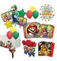 The Ultimate 8 Guest 53pc Super Mario Brothers Birthday Party Supplies