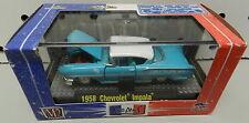 1958 58 IMPALA STREET RACE CAR LA CA TEAL BLUE 10-10 1/64 CHEVY M2