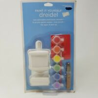 New Paint It Yourself Dreidel Ages 4 and Up 2004 Hanukkah Decor Holidays Craft
