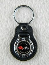 CHEVROLET CORVETTE KEY FOB SPORTS CAR C2 BIG BLOCK V8 PIN C7 CHAIN C3 RING PATCH
