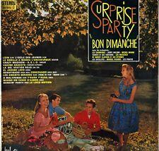"""COMPILATION """"SURPRISE PARTY BON DIMANCHE"""" POP JAZZ LATIN 60'S LP BEL AIR STEREO"""