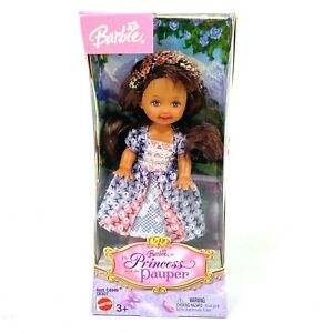 """2004 Barbie Kelly Doll The Princess and the Pauper Mattel # C4949 Lacey Dress 4"""""""