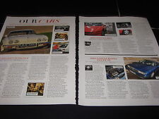 Reliant Scimitar JLH714K, Toyota MR2, Lancia Kappa Coupe V6 Jaguar E-Type 941XUL