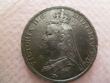 More details for 1889 queen victoria silver crown coin