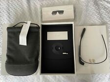 Google Glass Charcoal with Mono Earbud, Official Pouch, Shades, Box, Bundle