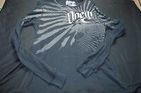O'Neill Medium Black White Thermal Long Sleeve Men's Shirt