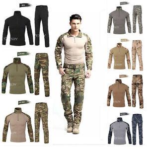 Airsoft Tactical Army Gen3 G3 Combat Suit Special Forces BDU Uniform Shirt Pants