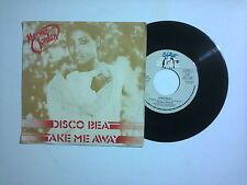 "Norma Jordan – Disco Beat / Take Me Away  – Disco 45 giri 7"" (Stampa Italia)"