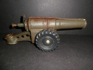 Vintage Cast Iron Toy Big Bang Cannon