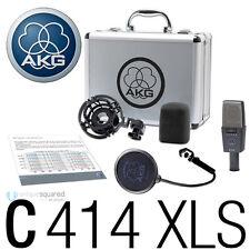 AKG C414 XLS Large-diaphragm Condenser Microphone