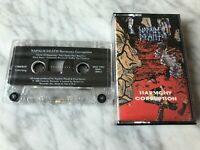 Napalm Death Harmony Corruption Cassette Tape 1990 Combat US PRESS VERY RARE!