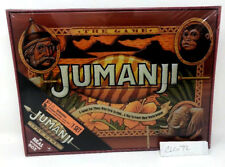 NEW SEALED  JUMANJI BOARD GAME REAL WOOD WOODEN BOX CASE  EDITION  THE MOVIE