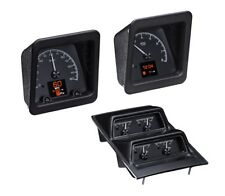 1969 Camaro Black Alloy Dakota Digital HDX Custom Gauge Kit w/ Console Gauges