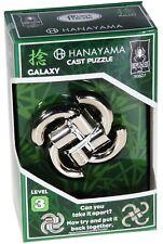 Galaxy Puzzle #30827 ~ Level 3 ~ BePuzzled Hanayama Cast Metal Brainteaser NEW!