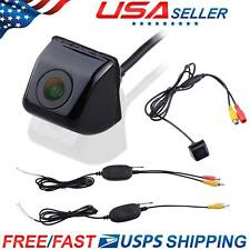 Wireless Car Reverse Rear View Backup Parking Camera CCD Night Vision 170 Degree