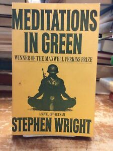 Stephen Wright Meditations In Green Uncorrected Proof Paperback
