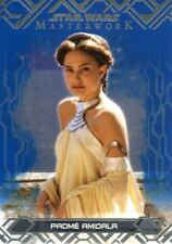 Star Wars Masterwork 2017 Blue Base Card #2 Padme Amidala