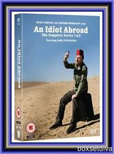 AN IDIOT ABROAD - COMPLETE SERIES 1 & 2 **BRAND NEW DVD BOXSET **