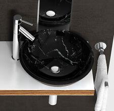 81022 Waschbecken Glas Waschschale  NEU