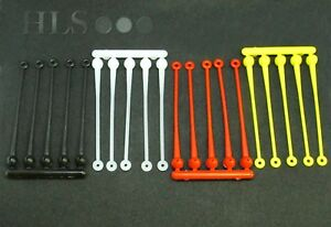 Sea fishing nylon swivel booms Yellow Black Red anti tangle - HLS Products [SB]