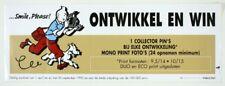 Autocollant Tintin Affiche publicitaire autocollante Smile Please