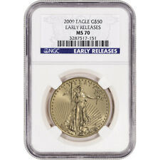 2009 American Gold Eagle (1 oz) $50 - NGC MS70 - Early Releases
