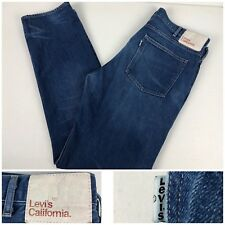Levis California Mens 38 X 34 Jeans White Tab 100% Cotton