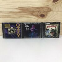 Ozzy Osbourne/ Black Sabbath CD's Lot Of Of 3 CD's GUC Tested