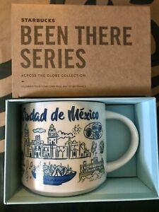 Starbucks Coffee Been There Series 14oz Mug CIUDAD DE MEXICO CITY Cup w/SKU