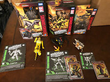 Transformers Kingdom War for Cybertron Lot Of 6 Beast Wars New Sealed Pre-owned