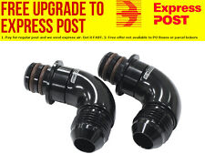 Aeroflow Transmission Oil Cooler Adapter Fittings (2 Pack) Suit Ford ZF 6HP26 6-