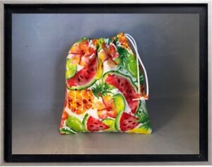 Gymnastics Leotard Grip Bags / Summer Fruits Gymnasts Birthday Goody Bag