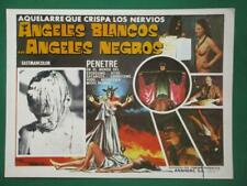 WITCHCRAFT '70 Horror DOCUMENTARY WHITE ANGEL BLACK ANGEL MEXICAN LOBBY CARD 2